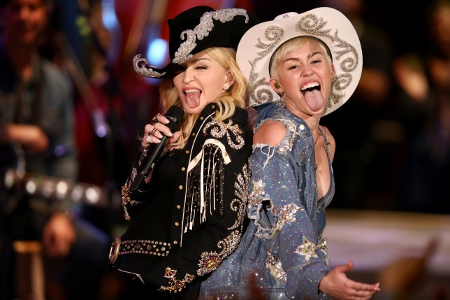 Madonna tells Miley Cyrus there's 'no need to apologise' after she slams Liam Hemsworth 'cheating' rumours