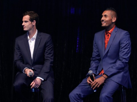 Roger Federer and Andy Murray named as coaching options for Nick Kyrgios