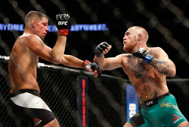Conor McGregor beat Nate Diaz in their rematch three years ago
