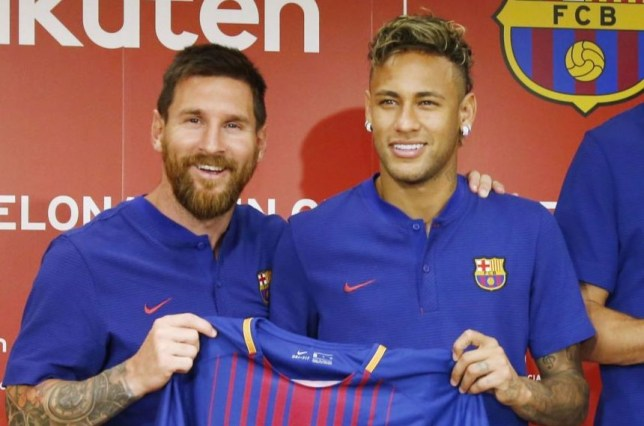 Lionel Messi has told Neymar to snub Real Madrid and return to Barcelona