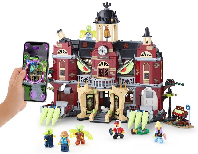 Transforming school houses and haunted app are Lego's next big thing