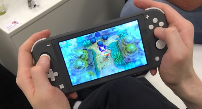 Nintendo Switch Lite Hands On It S Light But It Doesn T