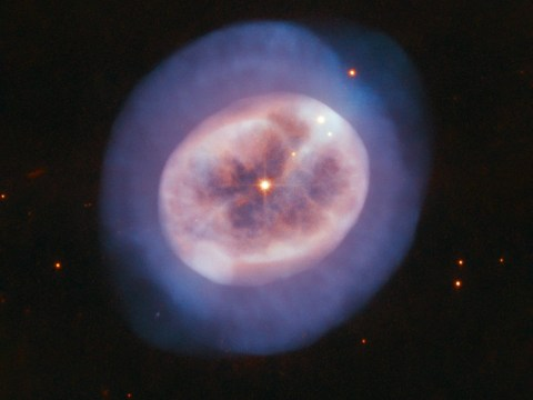 Hubble Space Telescope captures 'blobby jellyfish' star in deep space
