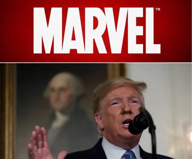 Marvel has ties to Trump