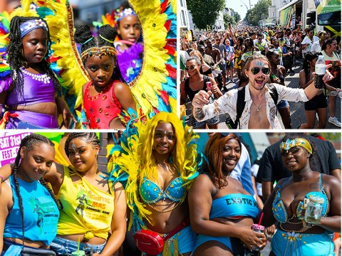Hundreds of thousands attend 'hottest ever' Notting Hill Carnival