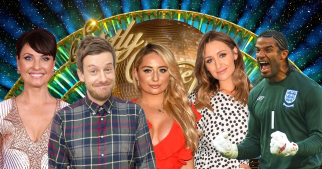 Comp of this year's confirmed Strictly Come Dancing celebrities