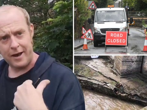 Man refusing to leave Whaley Bridge says 'it's a fuss about nothing'
