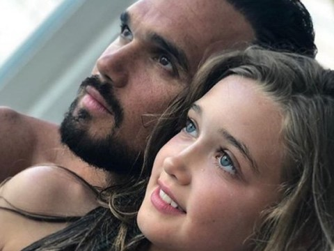 Gareth Gates 'can't believe how beautiful' his daughter is in rare picture of Missy