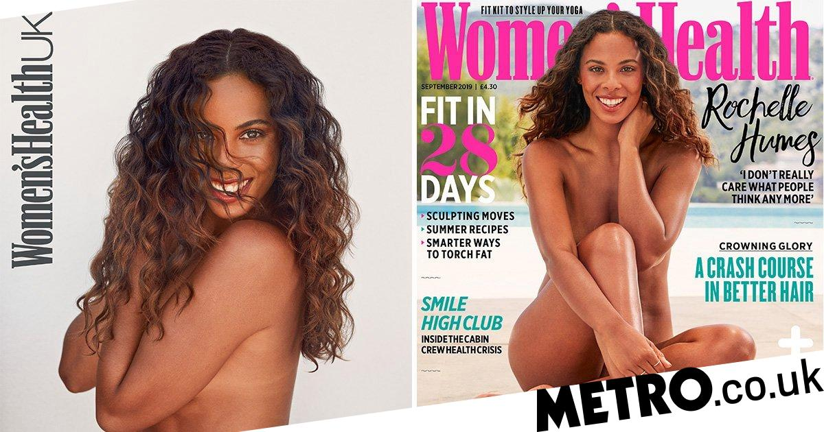 Rochelle Humes bares all in nod to body confidence, stretch