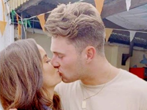 Love Island's Curtis Pritchard shares kissing throwback with Maura Higgins as they can't cope with being apart
