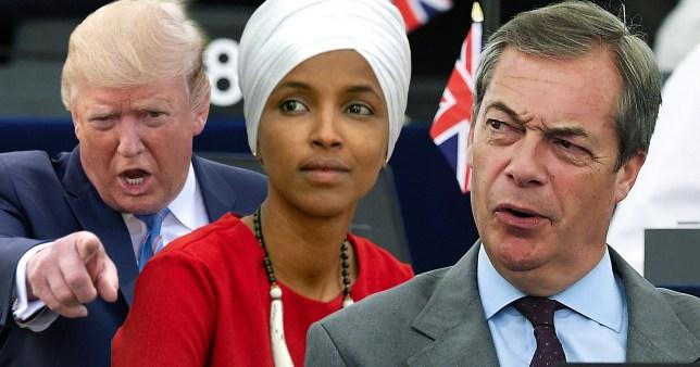 Nigel Farage says Donald Trump's racist comments were 'genius'