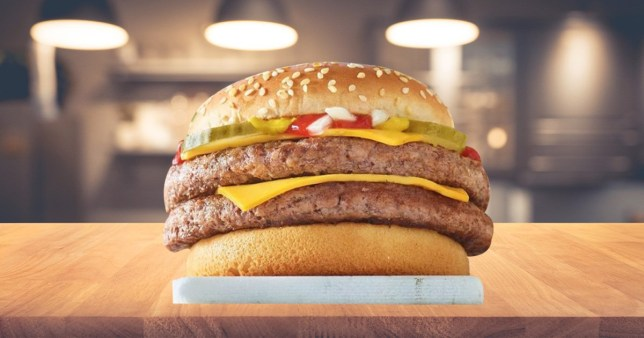 McDonald's is re-launching its Double Quarter Pounder with
