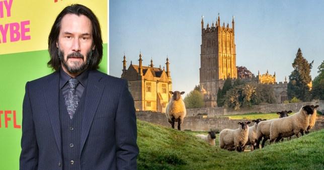 Keanu Reeves buying a farm