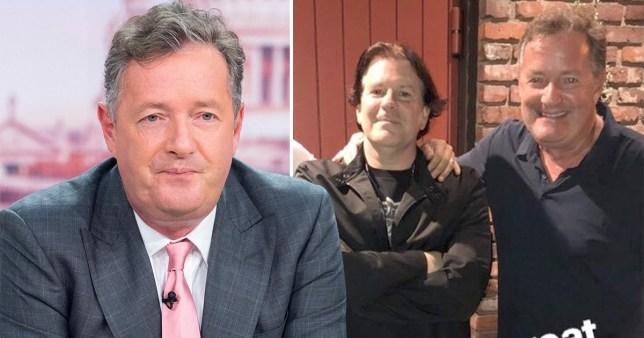 Piers Morgan and John Ferriter
