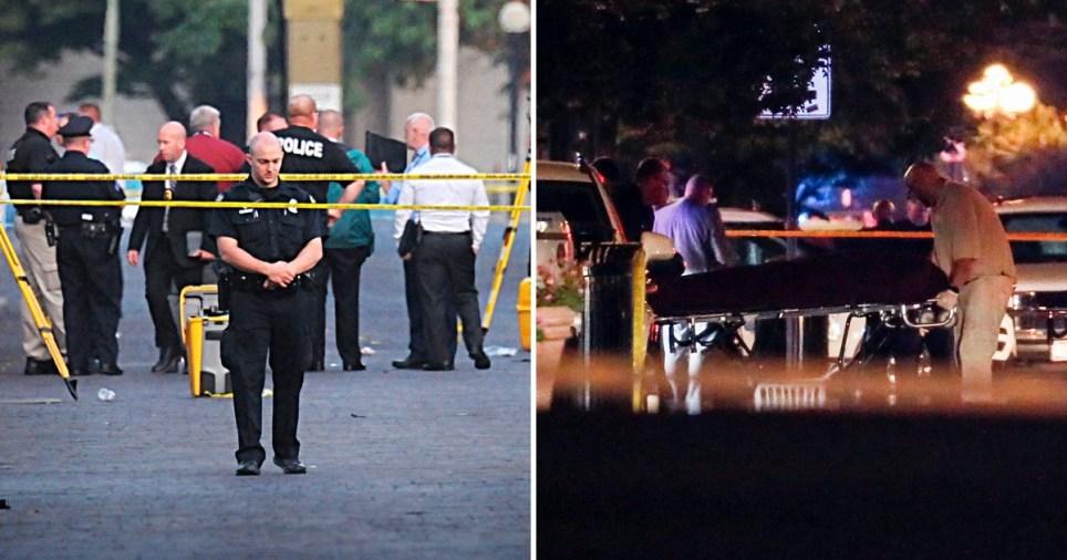 Nine dead in Ohio shooting hours after Texas Walmart massacre