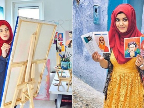 Student creates book of paintings featuring extraordinary women from Pakistan, including Malala