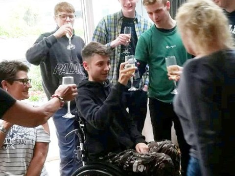 Teenager denied drug on NHS because he has been in wheelchair too long
