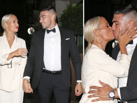 Molly-Mae Hague and Tommy Fury share sweet kiss after awkward Love Island confrontation with Anton Danyluk