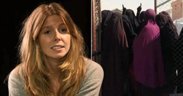 Stacey Dooley BBC Muslim women prayer gesture