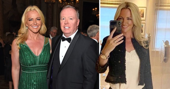 Michelle Mone reaches goal weight after seven years and is 'wedding ready'