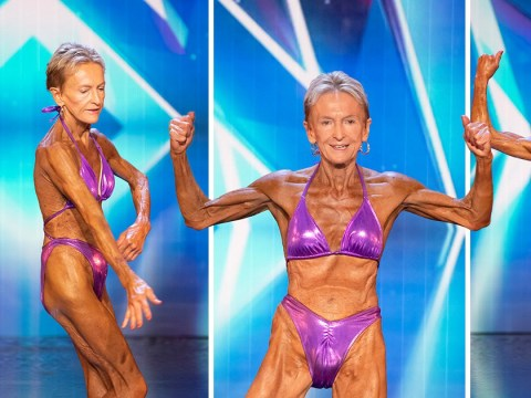 Bodybuilder, 76, has to be seen to be believed on Australia's Got Talent