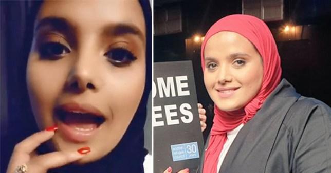 Muslim woman ordered to 'speak English' while speaking English