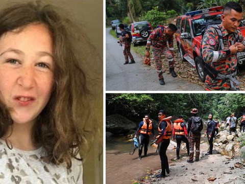 Hunt for missing girl in Malaysia continues as people donate £35,000 to help
