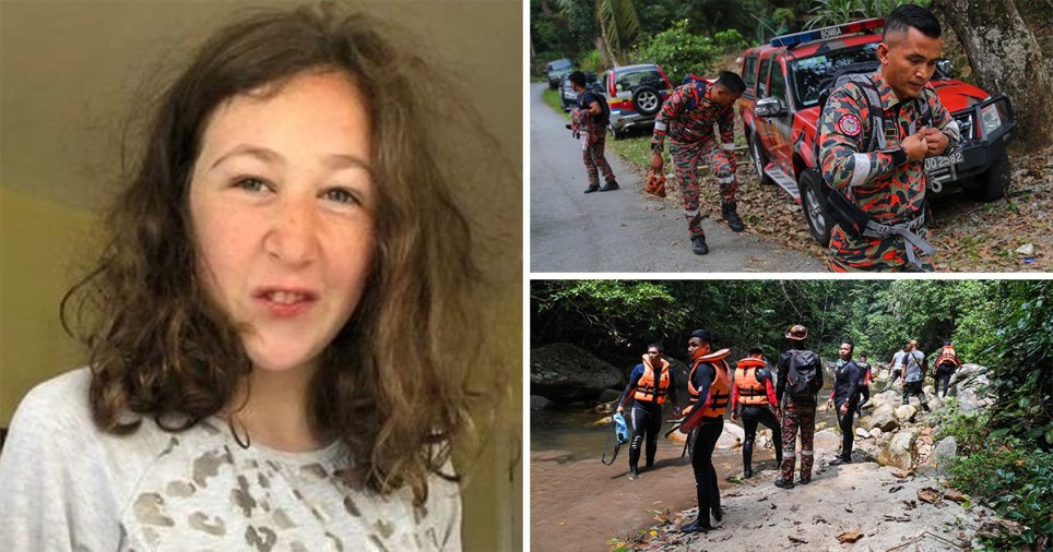 Missing 15-year-old girl Nora Quoirin's with pictures of search mission in Malaysia
