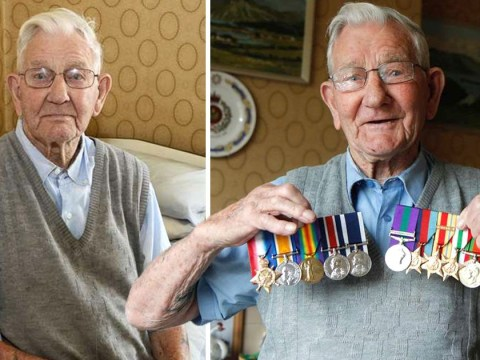 Heartache for WW2 hero, 106, after thieves steal his medals