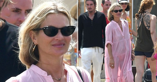 Kate Moss enjoys Saint-Tropez holiday with Sadie Frost and boyfriend