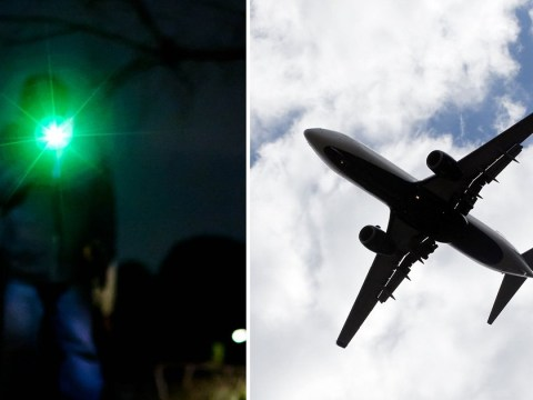 Pilots forced to dodge laser beams while landing at Glasgow Airport