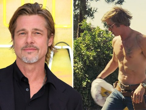 Brad Pitt took shirtless scenes very seriously for Once Upon A Time In Hollywood and we thank him for that
