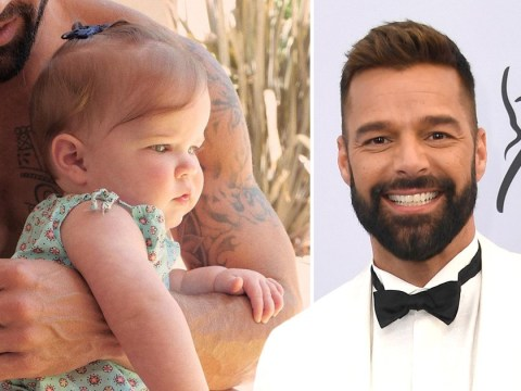Ricky Martin shares first photo of nine-month-old daughter Lucia and she's adorable