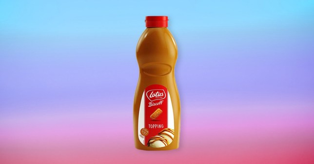 Lotus Biscoff Topping Sauce 1kg Squeezy Bottle