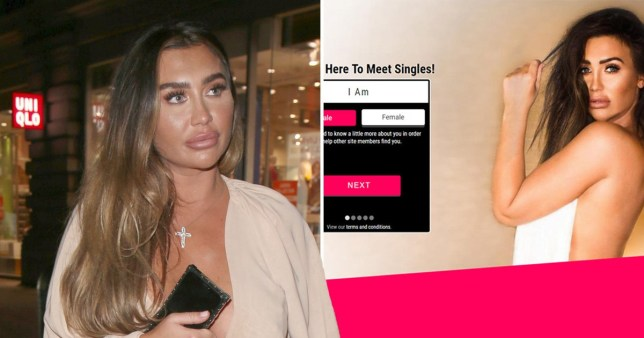 Lauren Goodger sex site