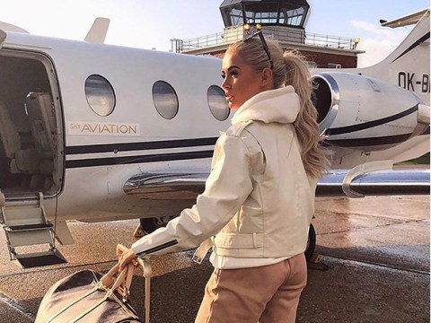Love Island's Molly-Mae Hague catches private jet to underage disco while Tommy Fury watches cartoons in bed