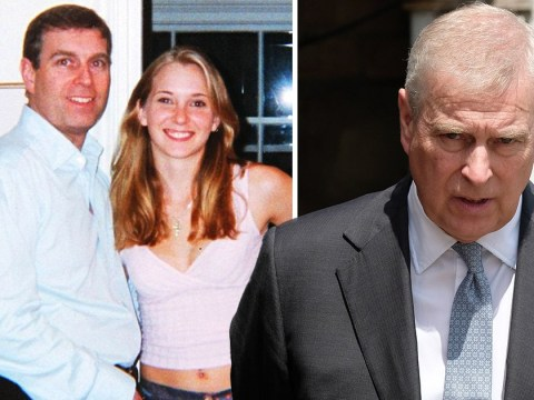 Prince Andrew accused of groping young woman's breast