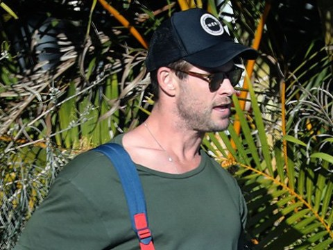 Chris Hemsworth on daddy duty is a complete mood after taking break from Hollywood for family time