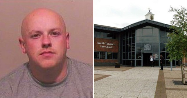 Simon Joseph Robinson, who was jailed for assault and aggravated vehicle taking at South Tyneside Magistrates' Court