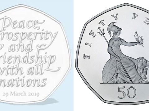 Millions of new Brexit 50p coins to flood tills by October 31