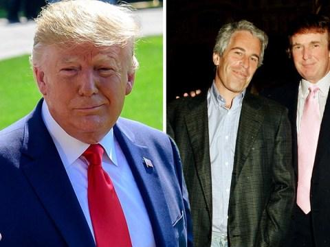 Donald Trump retweets Jeffrey Epstein conspiracy blaming Clintons