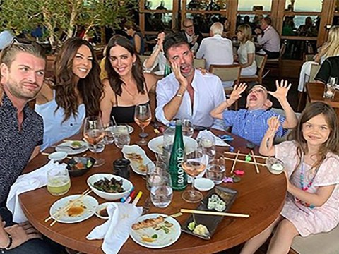 Simon Cowell's son Eric is adorable with best friend Terri Seymour's daughter Coco