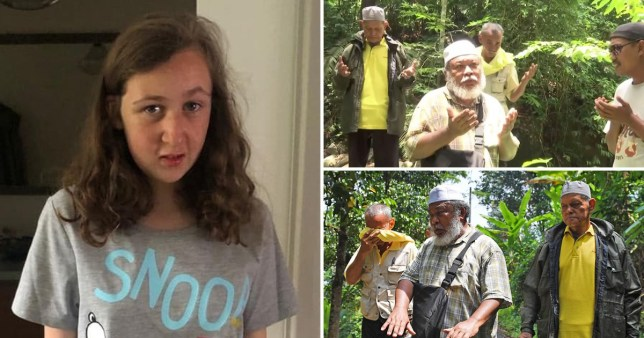 Shamans entering trance to search for Nora Quoirin in Malaysia