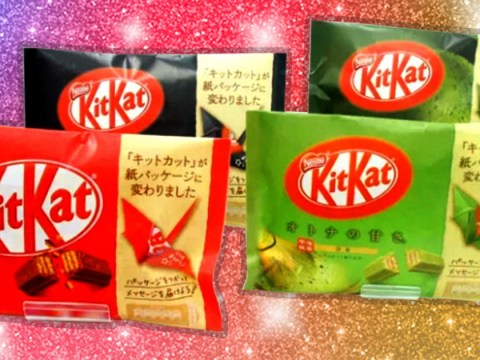 Nestle is swapping plastic wrappers on Japanese KitKats for recyclable origami paper