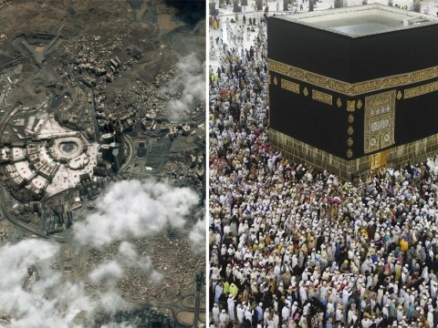 Incredible pictures show Mecca from space as millions flock to pilgrimage