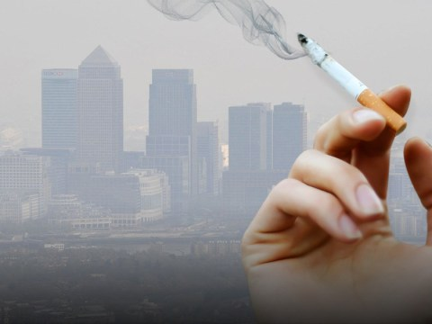 Living in cities is as bad as smoking 20 cigarettes a day