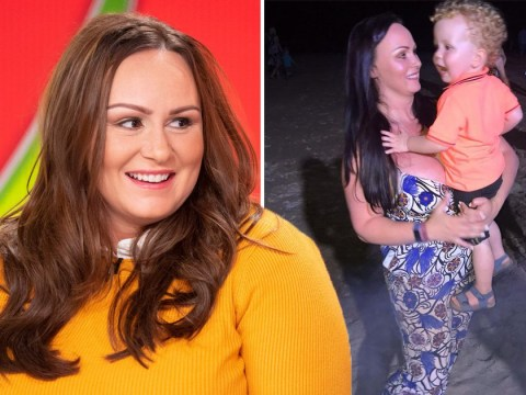 Chanelle Hayes chooses to 'embrace flaws' after struggling with holiday weight gain
