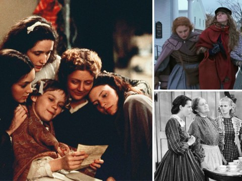 When were the other Little Women movie adaptations released and who starred in the casts?