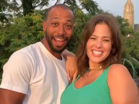 When is Ashley Graham due and who is her husband Justin Ervin?