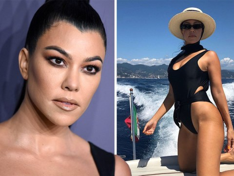 Kourtney Kardashian shares unedited swimsuit picture with stretch marks on show and fans are loving it